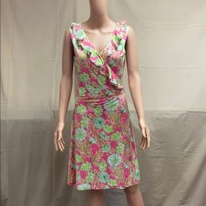 EUC! - Lilly Pulitzer Wrap Dress!